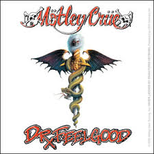 Motley Crue Dr Feelgood Stickers Decals Horror Business