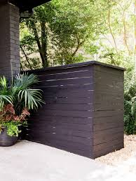 How To Build A Garbage Can Screen How Tos Diy