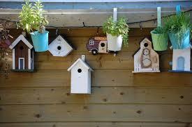 diy décorer un nichoir pour oiseaux