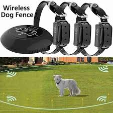 Wireless Dog Fence Pet Containment System Dog Fencing With Rechargeable Waterproof Receiver For Dog Safe Training Wish