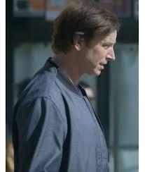 Owen Maestro Bomber Jacket   Medical Police Rob Huebel Blue Jacket -  Jackets Creator