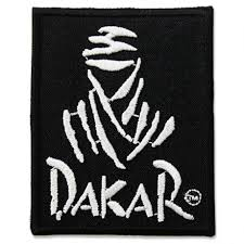 paris dakar rally logo embroidery