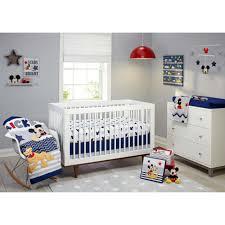 disney mickey mouse 3pc crib bedding