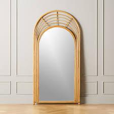modern floor mirrors cb2 canada