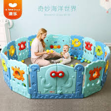 Baby Kid Play Mat Toddlers Safety Fence Shopee Philippines