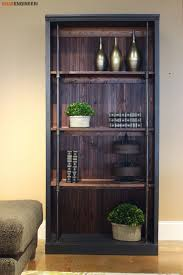 industrial bookcase free diy plans