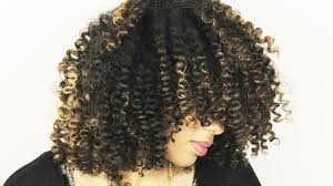 straw set on natural hair