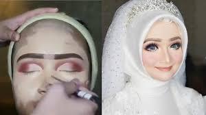 5 cara makeup pengantin nyeleneh ini