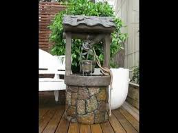 wishing well water feature so