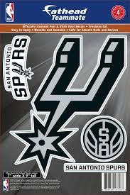 Fathead San Antonio Spurs Logo Wall Decal Dick S Sporting Goods