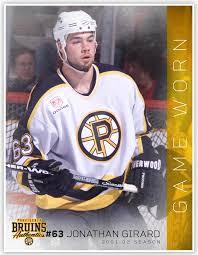 63 Jonathan Girard 2001-02 Game Worn White Jersey – Providence ...