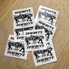 Brandy Melville Accessories Cowboys Stickers Poshmark