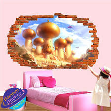 Aladdin Magic Carpet 3d Smashed Wall Sticker Poster Room Decor Decal Mural Yl0 Ebay