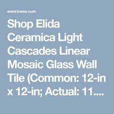 elida ceramica light cascades