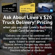 Truck Delivery Lowe S For Pros