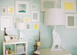 green baby room yellow nursery