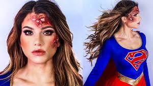 superwoman makeup and hair ideas