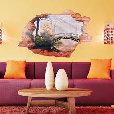 Walplus View Through The Wall Romantic Forest Wall Decal Wayfair
