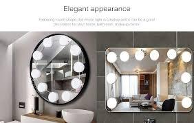 indoor decorative led makeup mirror
