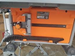Tool Review Zone The New Ridgid 10 Compact Table Saw Is Here And Its A Beast Model R45171