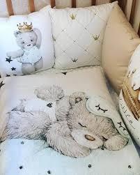 little prince teddy bear bedding set