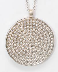 18k white gold round diamond setting