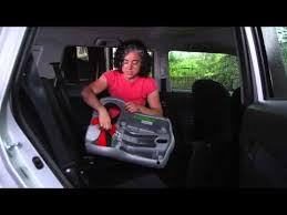 how to install a car seat using a