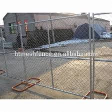 Galvanzied Chain Link Fence Panels 6 X12 Temporary Chain Link Fencing Direct Factory Buy Out Door Portable Diamond Temporary Fence Panel 8x12ft Direct Factory First Calss Chain Link Temporary Fencing 8 X12 Retractable Mobile Fencing Panel
