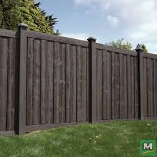 Give Value To Your Home Without Taking From Nature The Ashland Collection From Simtek Fence Features Rich Colors Fence Design Vinyl Fence Panels Fence Options