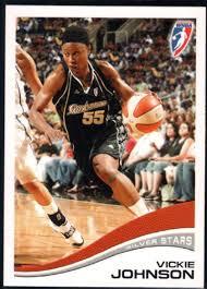Amazon.com: Basketball NBA 2007-08 Rittenhouse WNBA #43 Vickie ...