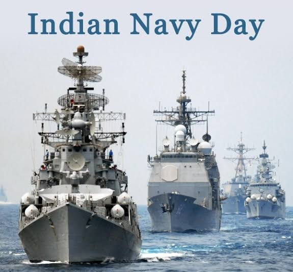 Image result for Images for Indian Navy Day 2019""