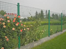wire mesh fencing green garden fence