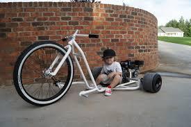 motorized big wheel drift trike speaks