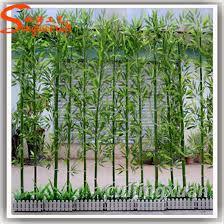 indoor artificial bamboo trees