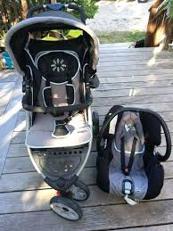 combi stroller with car seat double and