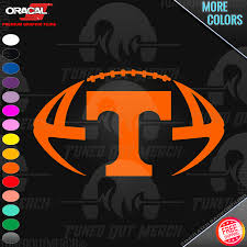University Of Tennessee Ut Vols Football Car Truck Window Vinyl Decal Sticker Ebay