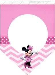 Coqueta Minnie En Rosa Imprimibles Gratis Para Fiestas Imprimibles Minnie Etiquetas Minnie Minnie