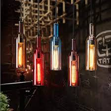 new modern pendant light color glass
