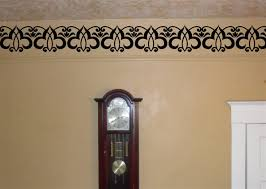 Border Molding Trim Vinyl Decal Wall Stickers Embellishments Flourishes Scroll