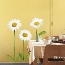 Daisies Wall Decal Allposters Com Flower Wall Decals Wall Decals Dorm Wall Decor