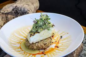 Grilled Halibut with Dungeness Crab ...