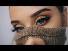 autumn leaves fall makeup tutorial
