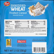 large bowl frosted shredded wheat
