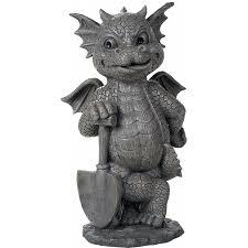 gardeneing dragon garden statue 12