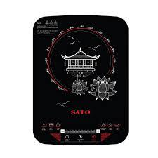 Bếp từ đơn Sato STB 205 dây nguồn được làm 100% dây đồng
