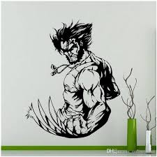 Superhero Theme Wolverine Wall Sticker Vinyl Home Decor Kids Boys Room Interior Design Decals Art Cartoon Comics Wallpaper Flower Wall Decal Flower Wall Decals From Onlinegame 12 21 Dhgate Com