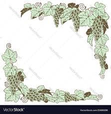 g vine border design royalty free