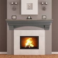 pearl hadley cottage fireplace mantel