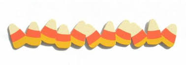 Candy corn border magnet from demdaco at - WikiClipArt
