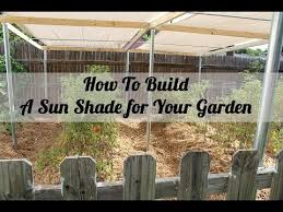how to make a sun shade cover for